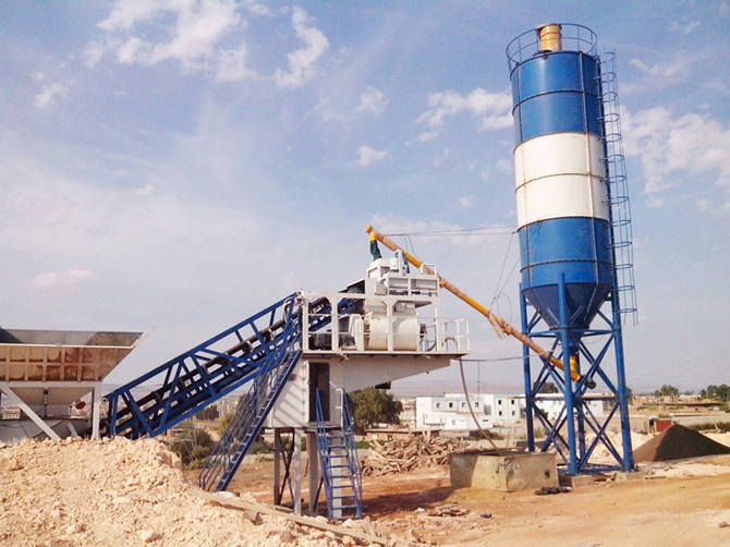 The most popular machinery for mini mobile batching plant