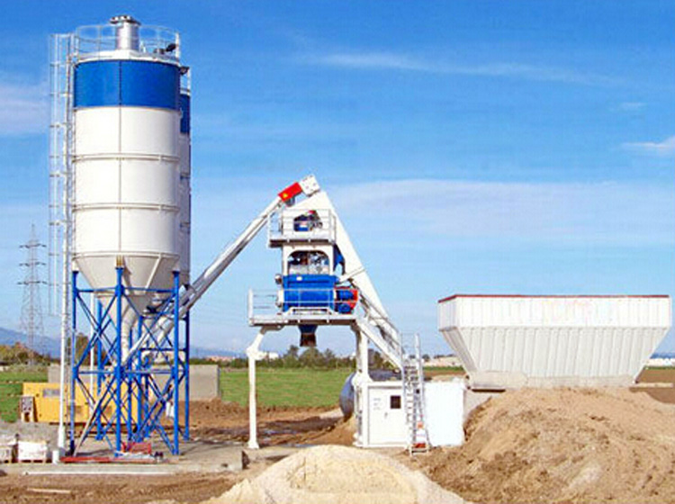Mini Batching Plant : Mini mobile batching plant concretebatchingplantforsale