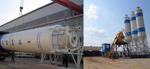 Regular Maintenance Of Cement Silo In Batch Plant